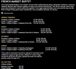French market buffet