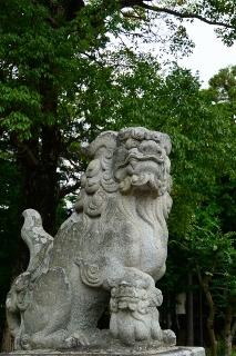 真宮神社の狛犬