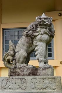 戸崎神明宮の狛犬