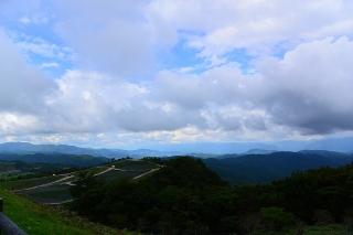 茶臼山から