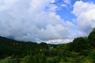 茶臼山高原 観光リフトより