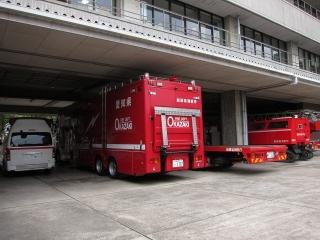 支援車・全地形対応車両専用搬送車