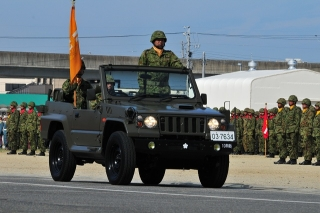 守山駐屯地 第10師団創立52周年記念行事