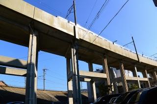 名鉄 瀬戸線 高架