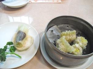 北京ダック/フカヒレ蒸し餃子・カニ卵入りシューマイ