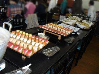 食べ放題天ぷら・にぎり寿司