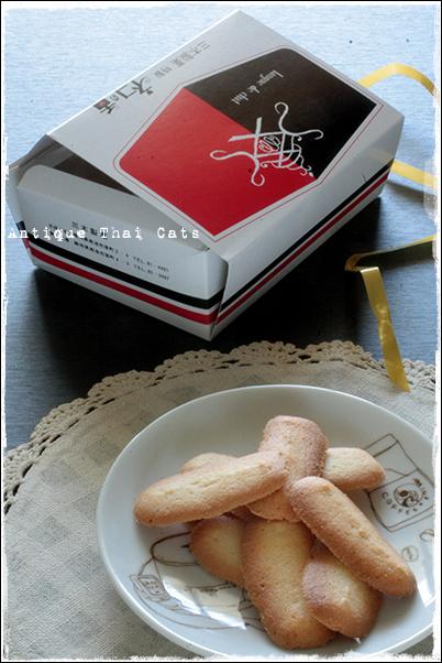 猫の舌 ラング・ド・シャ langue de cha お菓子 ขนม Biscuit