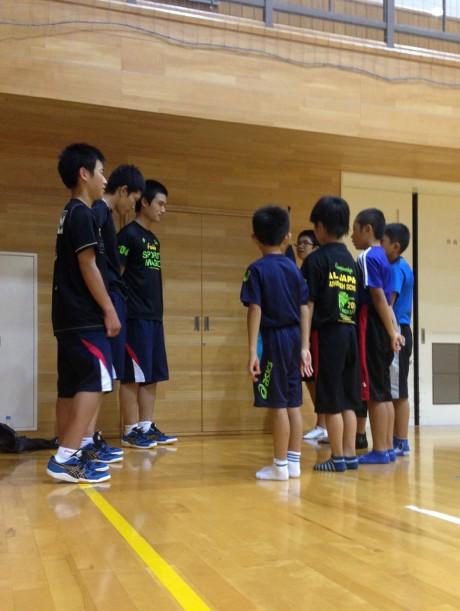 2014-9-10 スポ少にて (1)