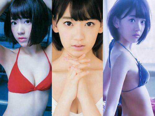 HKT宮脇咲良(16)が次期エースを狙って水着で攻めまくり!画像×48