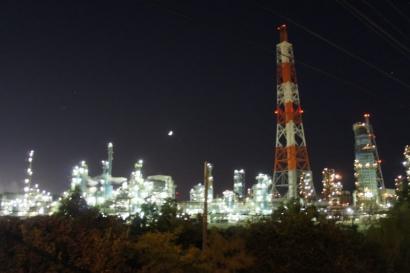 夜の工場見学1