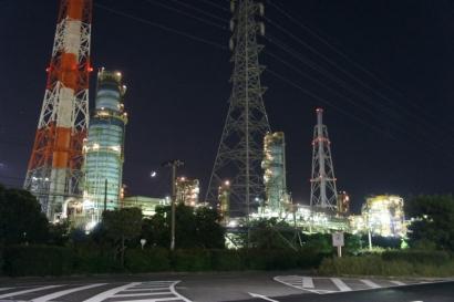 夜の工場見学5