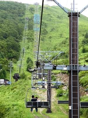 車山高原のリフト2