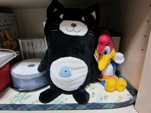 黒猫ぬいぐるみ1