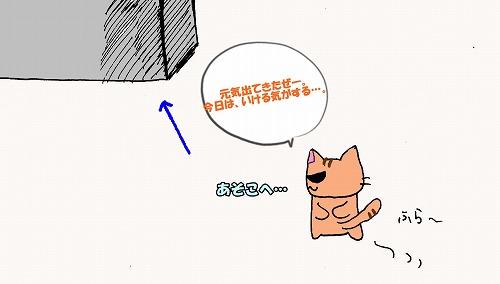 グラサンねこの食事 (4)