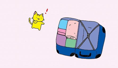 旅行かばんにご用心!1