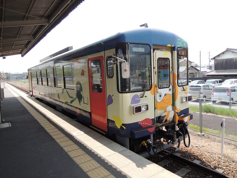 信楽高原鉄道の電車