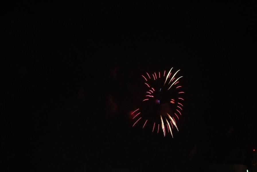 変わった形の花火