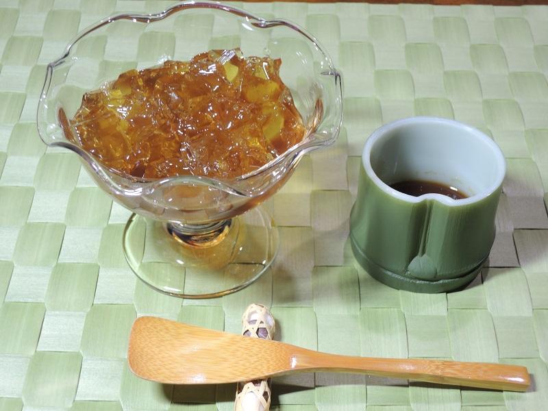 ほうじ茶&黒蜜