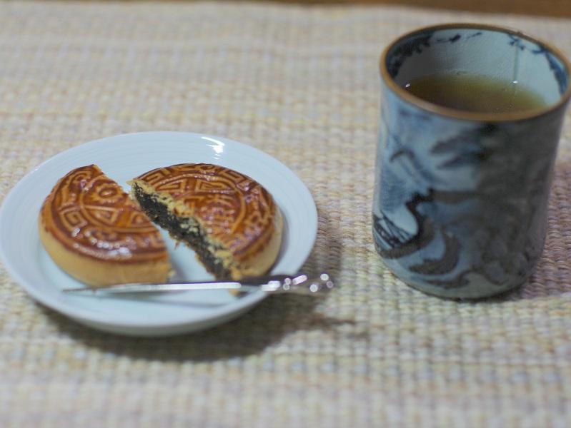 月餅と紅茶