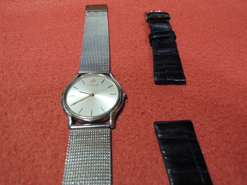 時計ベルト交換