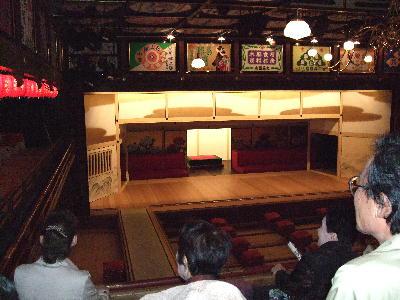 八千代座舞台