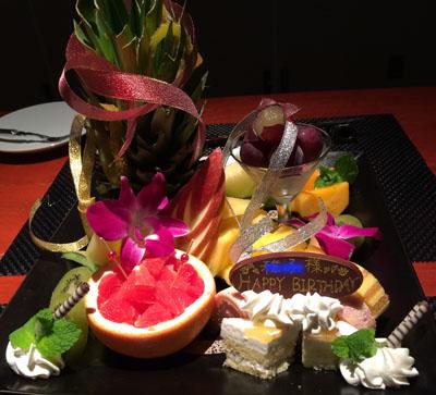 3日目バースデイケーキ
