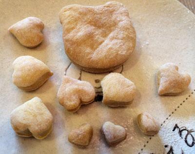 カボチャのかったいクッキー