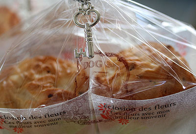 薔薇のパン