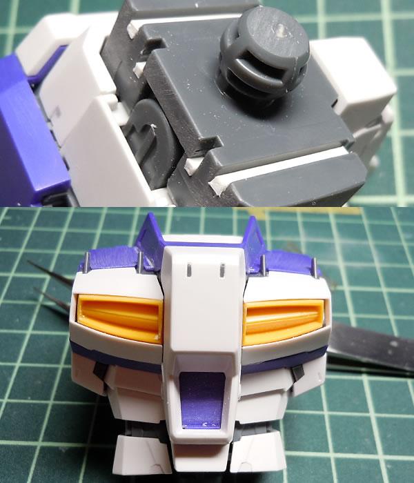 MG Hi-νガンダム Ver.Ka 製作018