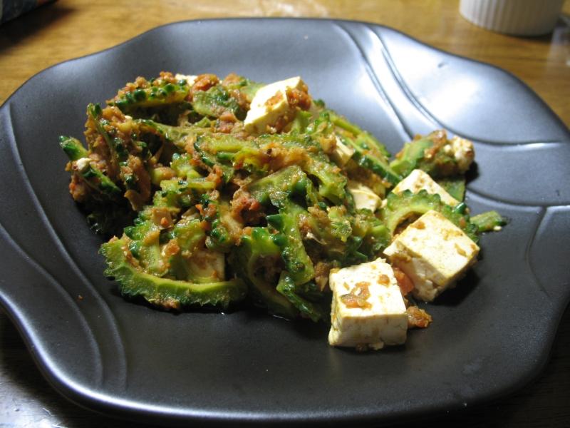 ゴーヤ豆腐