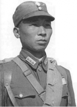 chinese nationalist army infantryman in combat uniform 1939