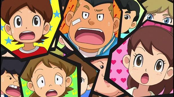ゲームアニメ 妖怪ウォッチ U・S・O 給食のグルメ 孤独のグルメパロディ 井之頭五郎 プリン