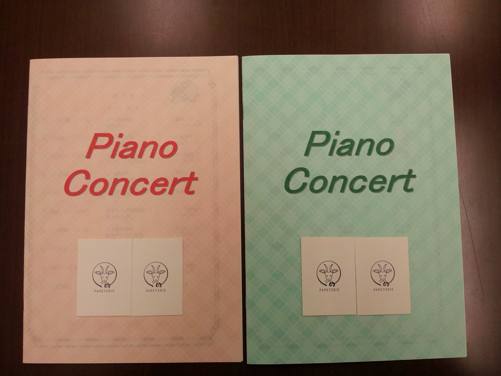 ピアノプログラム
