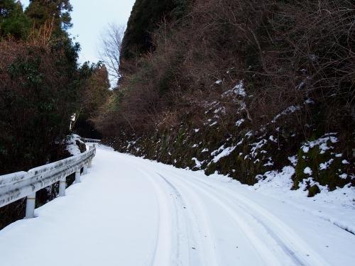 13根引峠から文字岳への道