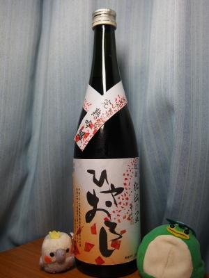 新潟 頚城酒造 完熟吟醸ひやおろし (1)