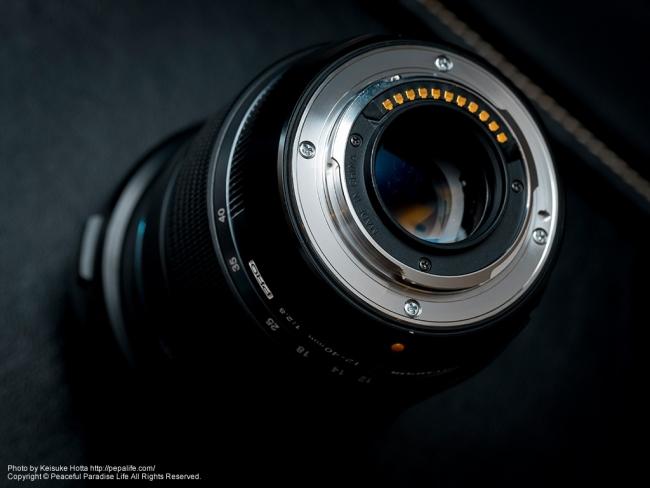 修理されたM.ZUIKO DIGITAL ED 12-40mm F2.8 PRO