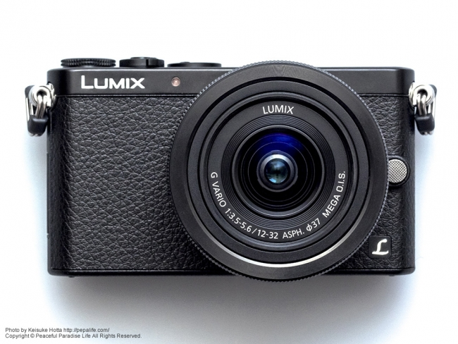 Panasonic LUMIX GM (DMC-GM1K) 正面