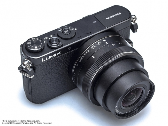Panasonic LUMIX GM (DMC-GM1K) とLUMIX G VARIO 12-32mm F3.5-5.6 ASPH. MEGA O.I.S.