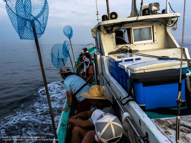 タコ釣り船