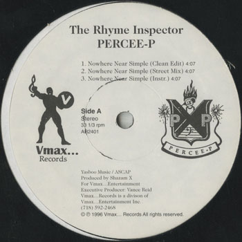 HH_RHYME INSPECTOR PERCEE P_NOWHERE NEAR SIMPLE_201409