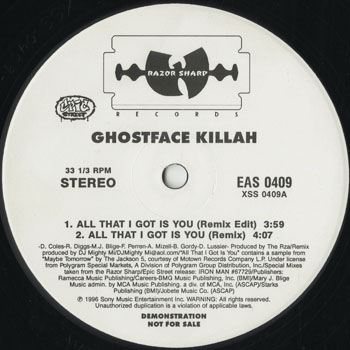 HH_GHOSTFACE KILLAH_ALL THAT I GOT IS YOU_201409