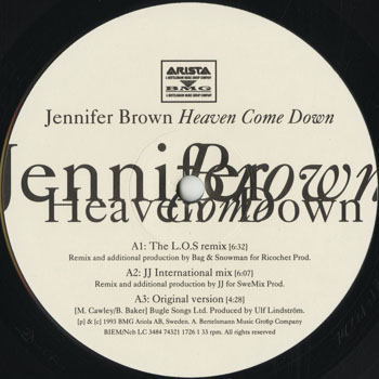 RB_JENNIFER BROWN_HEAVEN COME DOWN_201409