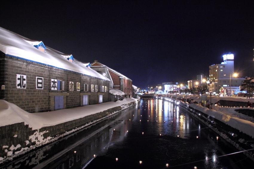 140208-小樽雪あかりの路・運河会場085