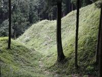 iw岩櫃城の堀切