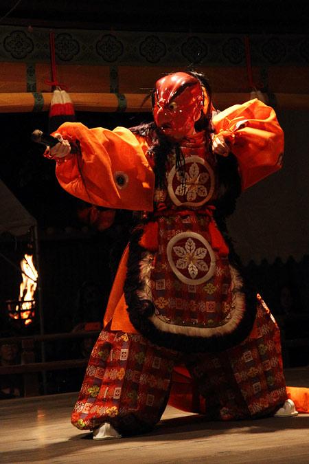 氷室神社 夕座舞楽4