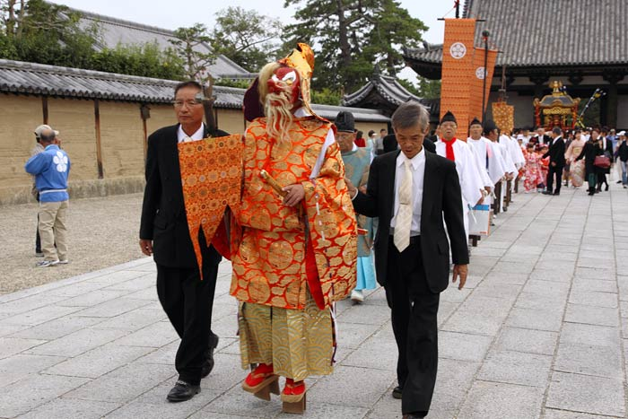 斑鳩神社 秋祭り1