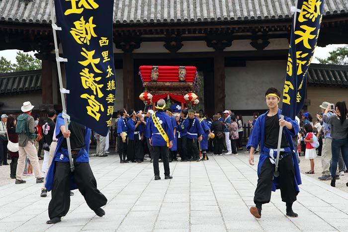 斑鳩神社 秋祭り2