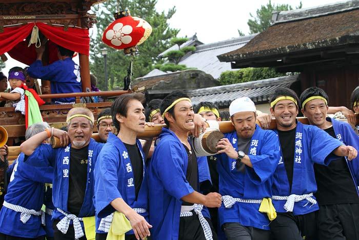 斑鳩神社 秋祭り4