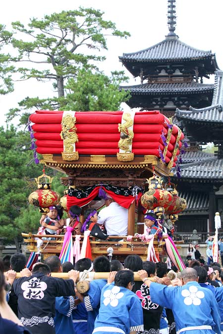 斑鳩神社 秋祭り3