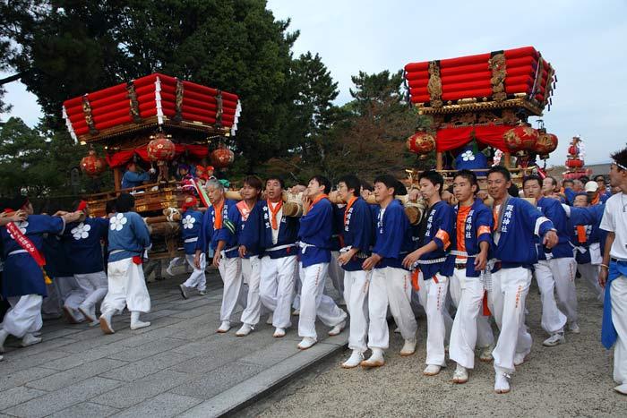 斑鳩神社 秋祭り5